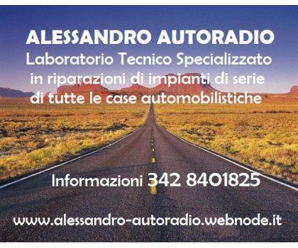 Laboratorio ALESSANDRO-AUTORADIO -