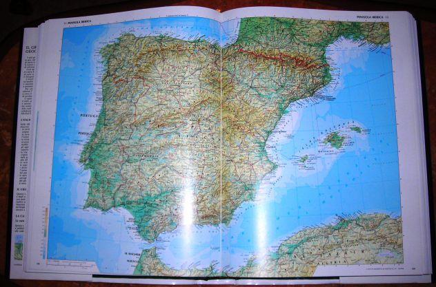 GRANDE ATLANTE GEOGRAFICO DE AGOSTINI 1982 - Foto 3