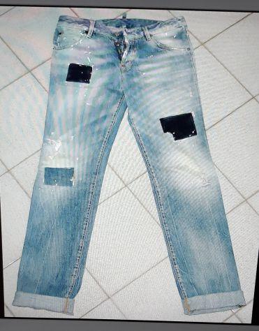 Dsquared jeans effetti usato