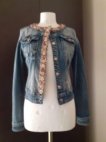 Giubbino jeans Fracomina nuovo