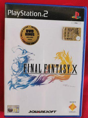 FINAL FANTASY X ( PAL - x - PS2 )