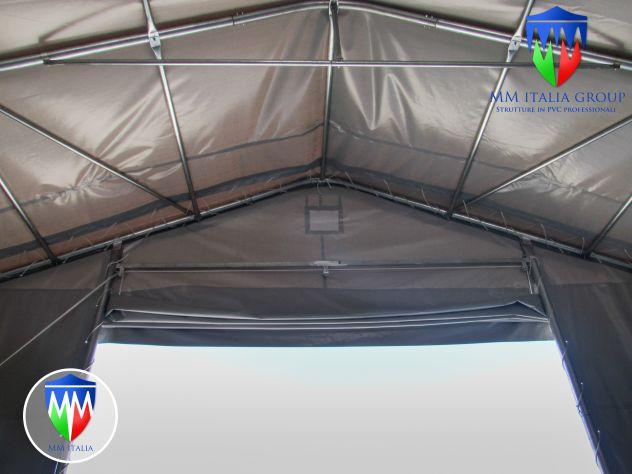 Strutture Industriali uso magazzino 8 x 20 x 4,40 mt Pvc 720 mq.