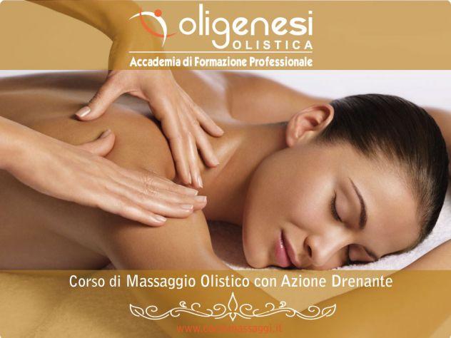 CORSO DI MASSAGGIO OLISTICO CON AZIONE DRENANTE A FROSINONE