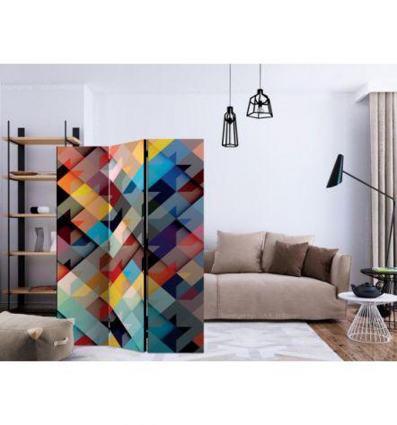 Paravento Multicolore ARREDALACASA N.10 Con 3 Ante - Foto 2