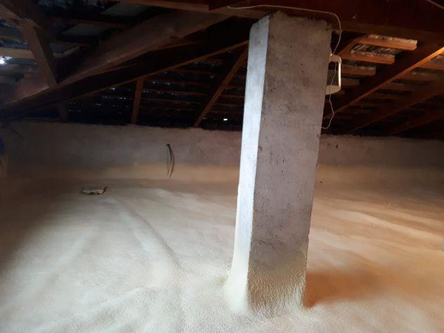 Insufflaggio,spruzzo e colata isolamento termico solaio condominio - Foto 5