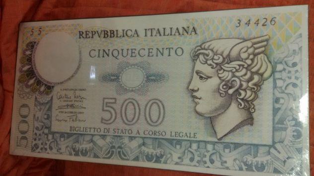 Tela banconote 500 lire
