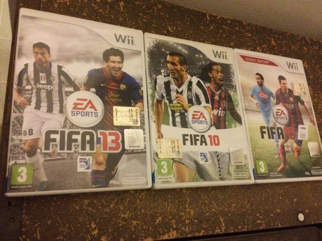 Giochi originali FIFA per Wii