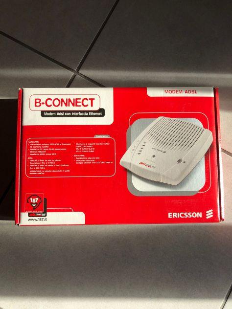 MODEM ROUTER ALICE ADSL B-CONNET ERICSSON INTERFACCIA ETHERNET