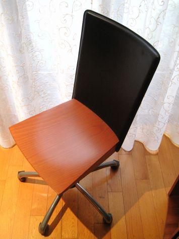 Sedia in legno e pelle - Foto 3