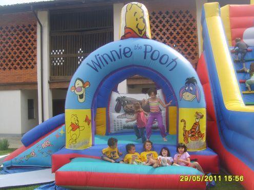 noleggio scivoli  gonfiabili animazioni per bambini a lecco 3478497587 - Foto 3