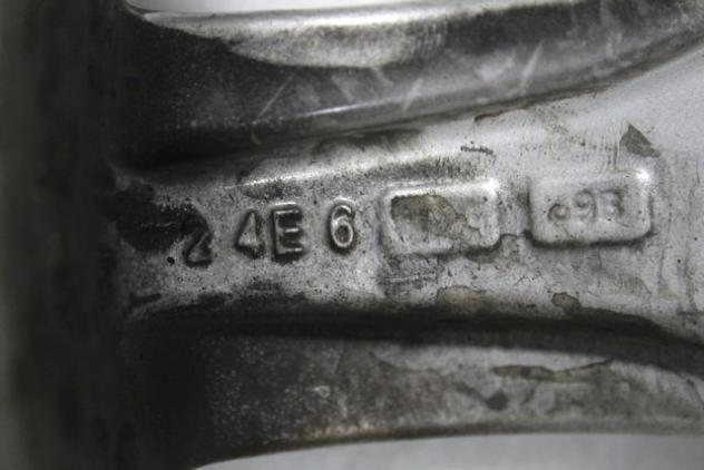 SET 4 CERCHI IN LEGA AFTERMARKET RVS DA 16 POLLICI 5 FORI 7JX16H2 ET 45 SEA … - Foto 9