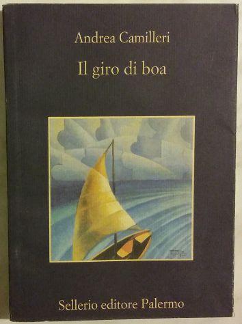 Il giro di boa di Andrea Camilleri Sellerio Editore Palermo, 2003 come nuovo