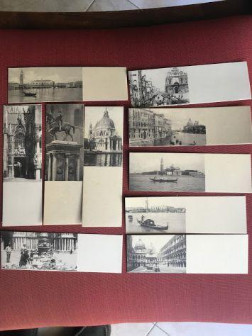 Rare Mini cartoline Vedue di Venezia