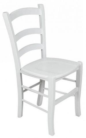Sedie in legno ristorante bianche cod 3011/L