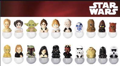 COLLEZIONE Rollinz 1.0 Star Wars Completa di 20 Personaggi