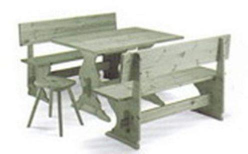 Tavoli con panche Pub cm 150 color verde nuovo - Annunci Taranto