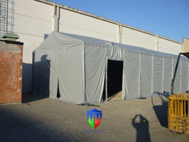 TENDONE TUNNEL PER DEPOSITO RIMESSAGGIO MAGAZZINO 8 X 24 Metri - Foto 2