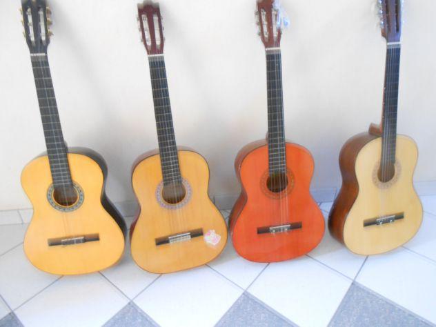 Chitarra nuova+accordatore digitale+custodia