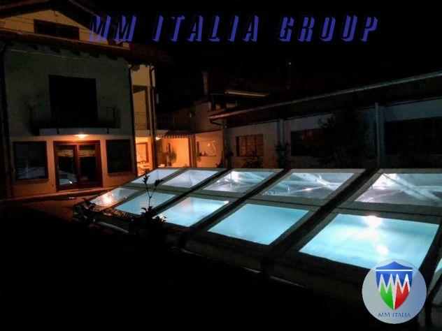 tendoni 6 x 12  tetto  e pareti trasparenti  pvc cristal , con velcro, modulari - Foto 6
