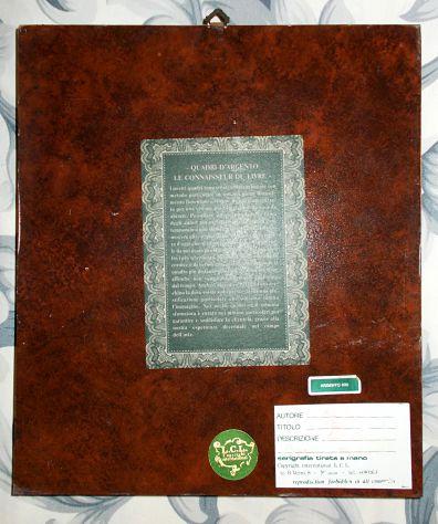Serigrafia Argento di Ligabue