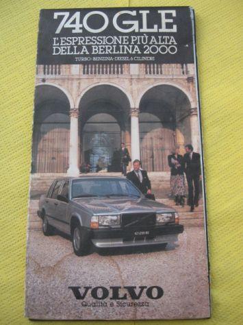 CARTINA STRADALE VOLVO 740