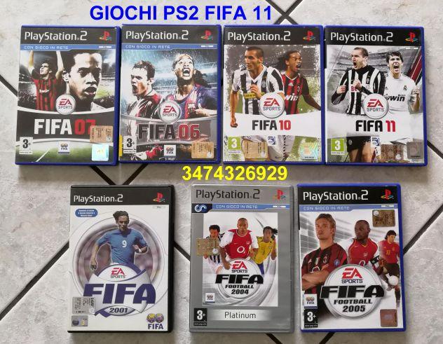 Giochi PS2  FIFA 11
