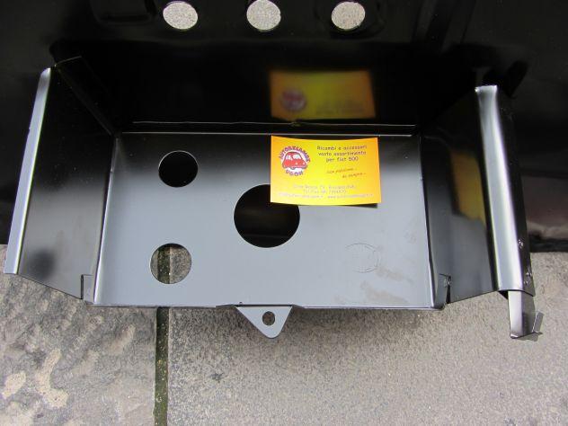 Portabatteria Fiat 500 F L R e lamierati rhibo old fiat 500