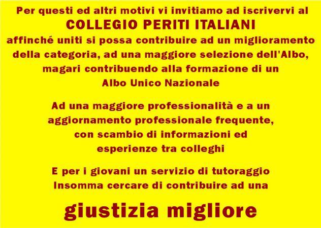 Sei un professionista? Iscriviti a COLLEGIO PERITI ITALIANI sarai perito forense - Foto 3