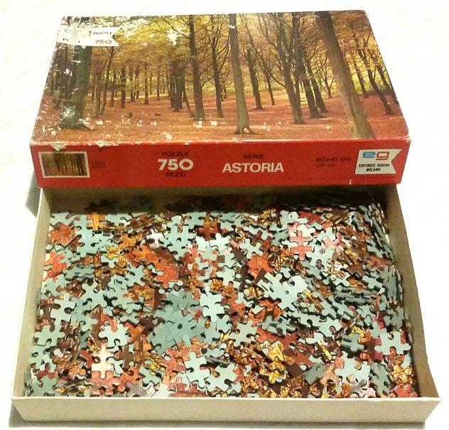 Puzzle Autunno 750 pezzi Serie Astoria cm.60x41 Editrice Giochi Milano