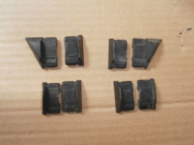 Tappi modanature laterali Autobianchi a112 Abarth Elegant prima serie NUOVI