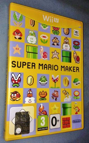 Gioco Super Mario Maker Nintendo Wii U PAL multilingua italiano