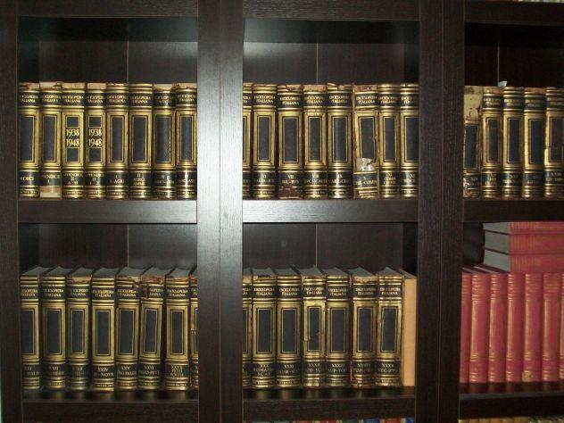 Libri ed enciclopedie storiche antiche di classe.Treccani,Bompiani...