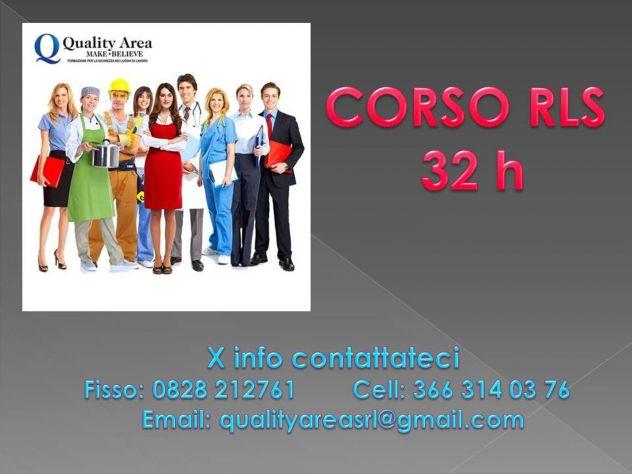 Corso RLS (SICUREZZA  NEI LUOGHI DI LAVORO) - IN TUTTA ITALIA