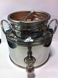 Fusto olio inox Milano 2 litri - Cardelli