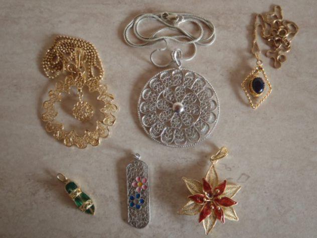 Pendenti e ciondoli in argento