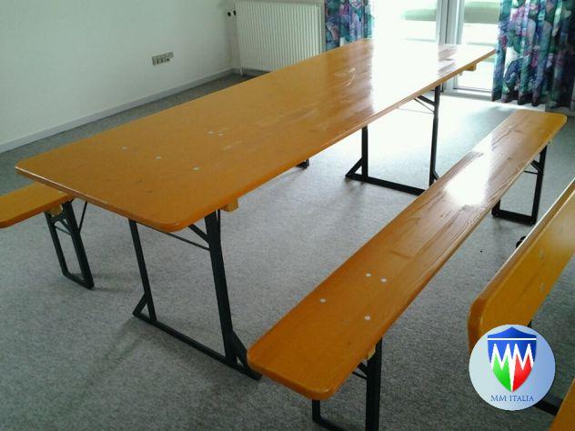 Set Panche e Tavoli per Sagre , Set Birreria 506780