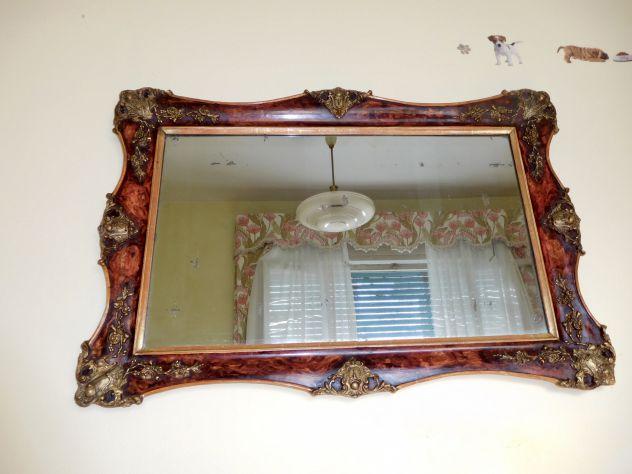 SPECCHIERA 800 Luigi Filippo, veneziana, tutta originale compreso specchio