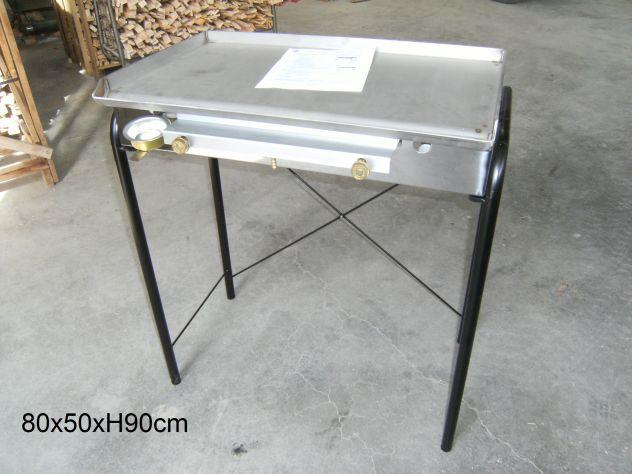 Griglia barbecue a gas in acciaio inox annunci udine - Piastra in acciaio inox per cucinare ...