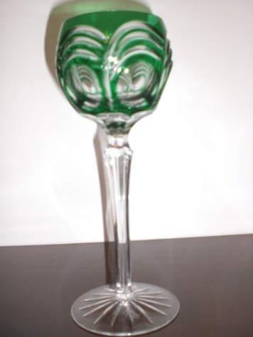 12 bicchieri cristallo Boemia lenticolari - Foto 2