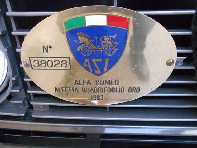 Alfa Romeo Alfetta 2.0i Quadrifoglio Oro - Foto 4