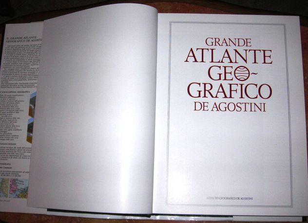 GRANDE ATLANTE GEOGRAFICO DE AGOSTINI 1982 - Foto 2