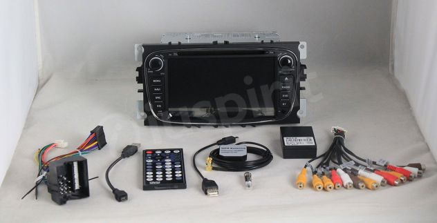 ANDROID DVD autoradio 2 DIN navigatore Ford Focus Mondeo C-Max S-Max - Foto 9