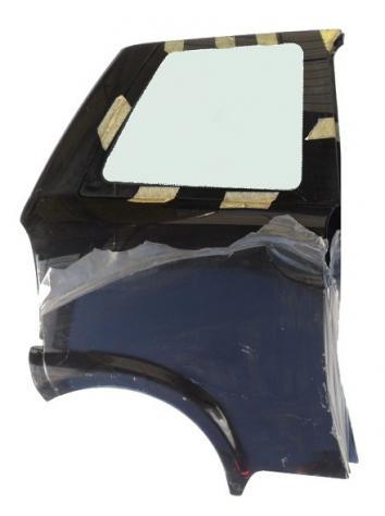 KIN751XX1014 FIANCATA PARAFANGO POSTERIORE DX ITALCAR T2 T3 COMPLETA DI VETRO