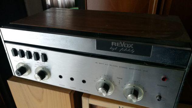 Amplificatore stereo revox a50