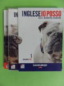 Corso d' inglese N'1 libro e dvd INGLESE IO POSSO