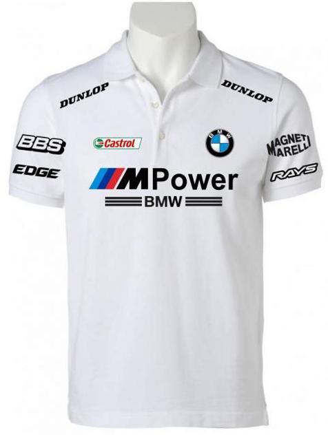 POLO BMW M POWER maglietta felpa alfa romeo t-shirt, ducati,ktm