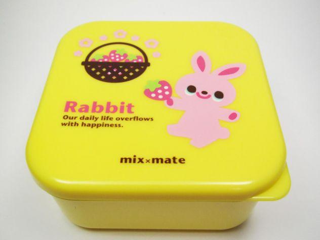Bento box coniglio rabbit mix mate obento o-bento Giappone Japan take away