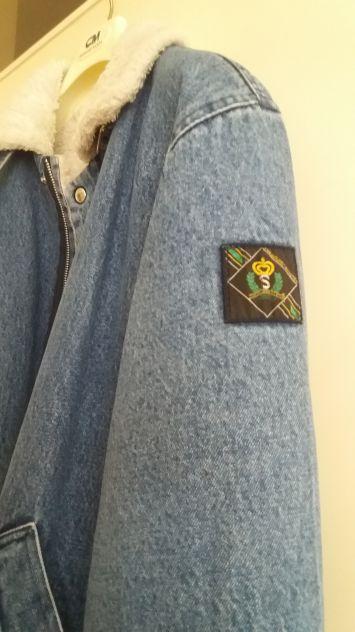 Giubbotto in Jeans tg M come nuova anni 80