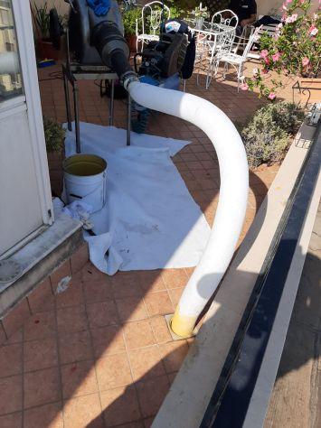 Risanamento colonne pluviali Campobasso - Foto 3