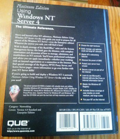 WINDOWS NT - 2 TESTI DI RIFERIMENTO VINTAGE ANNI 90 - Foto 2